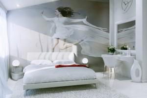 Номер Молодожен - кровать