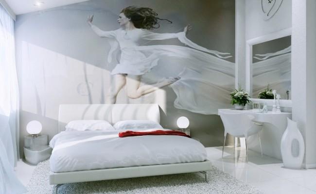 Номер Молодожен – кровать
