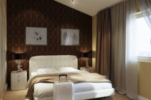 """Номер в отеле """"Стандарт"""" - кровать"""