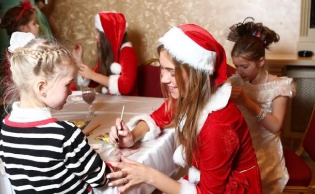 Детский праздник в банкетном зале