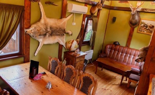 Охотничий домик