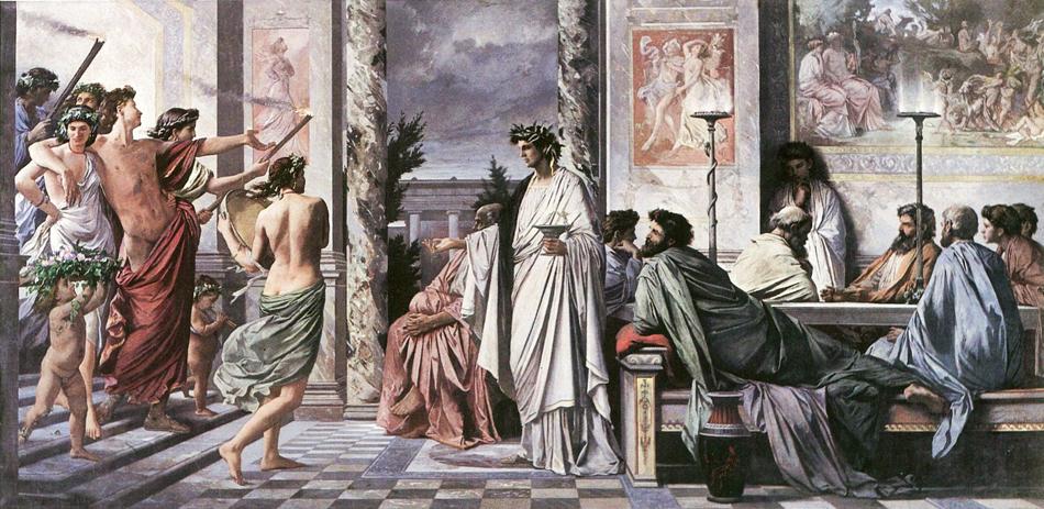 Банкет в Древней Греции