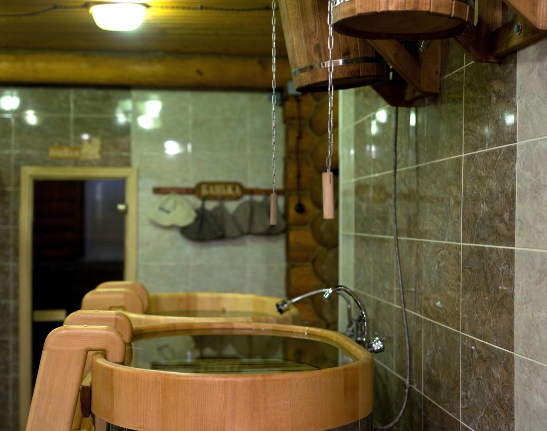 Купель в бане Марфино 1