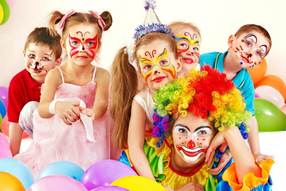 Детский праздник в Марфино