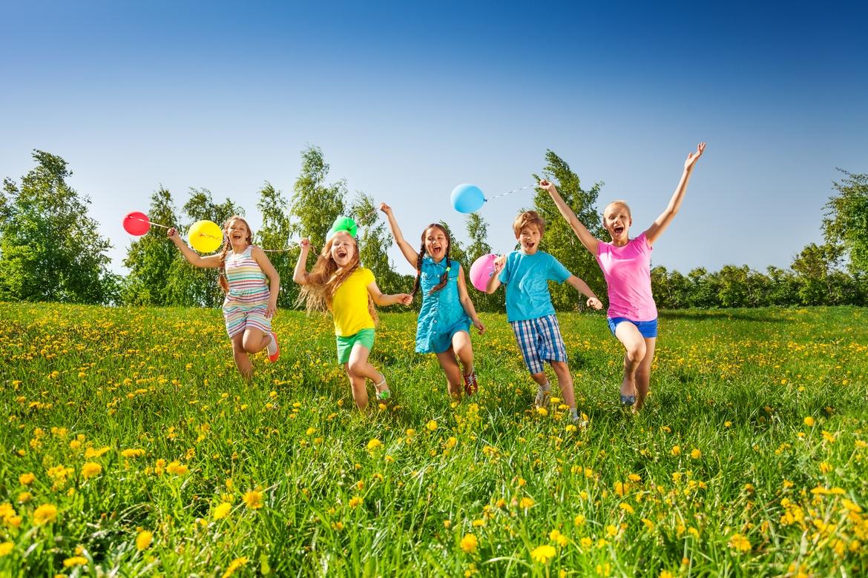 Детский праздник на природе