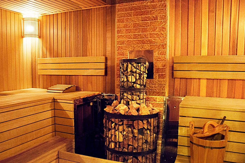 баня в Марфино