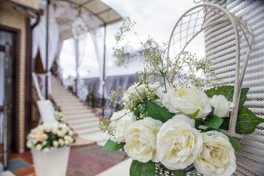 Свадьба во дворе Марфино