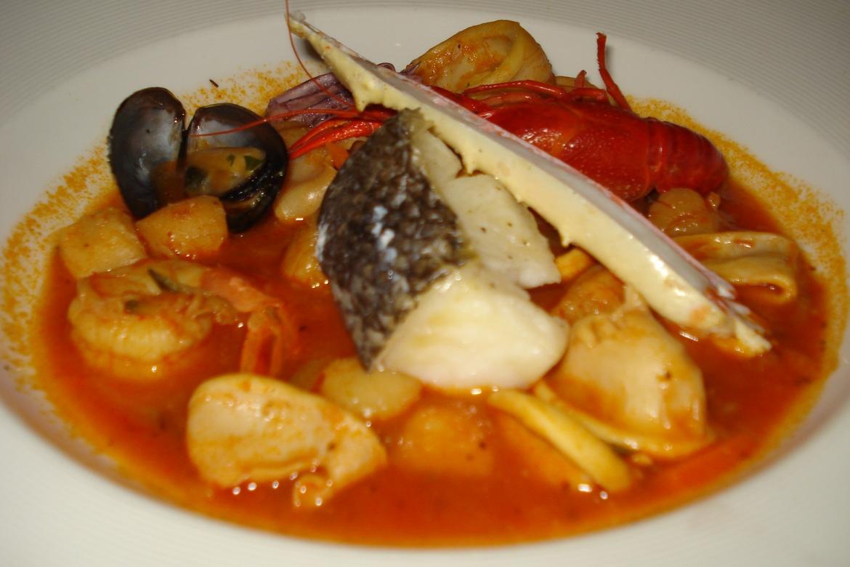 Итальянский суп из морепродуктов