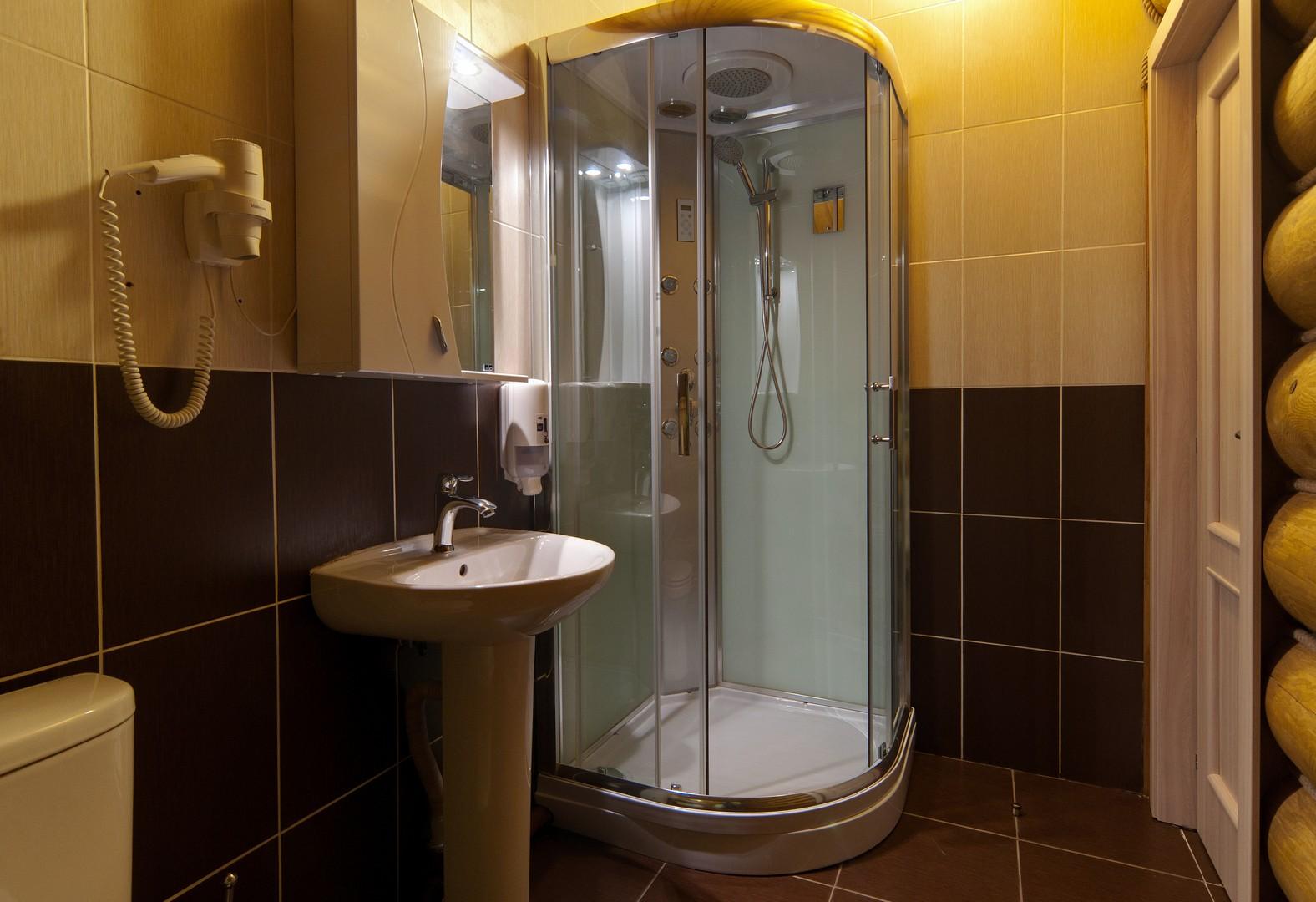 Душевая в бане