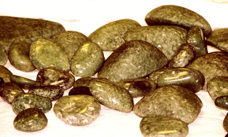 Камни в бане Марфино