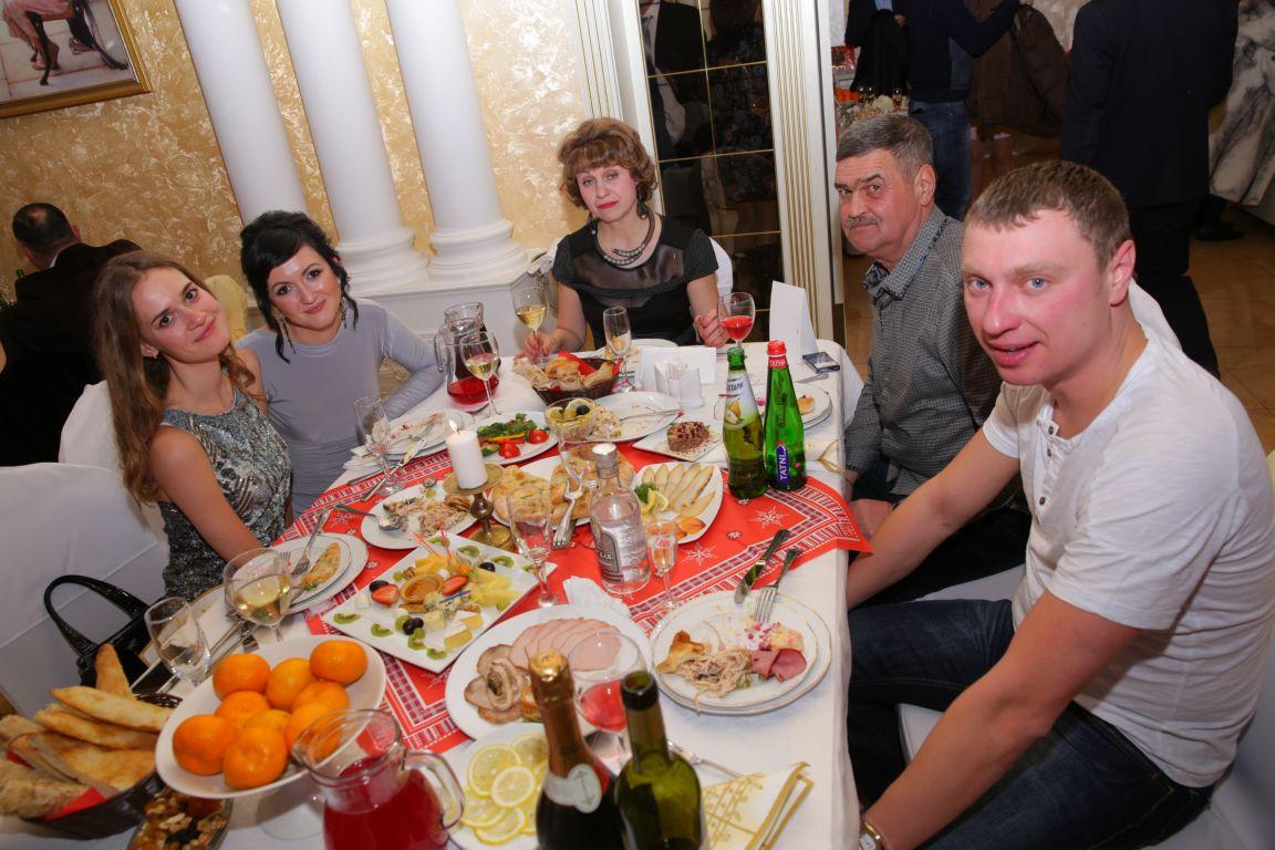 Новый год в ресторане Марфино
